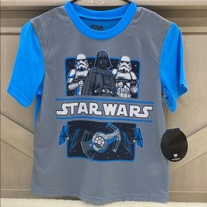 Star Wars Boy's Size 12 Tshirt & Tank Top Set